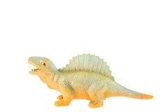 Juguete plástico del dinosaurio Foto de archivo