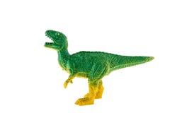 Juguete plástico del dinosaurio, rex del tiranosaurio Imagen de archivo