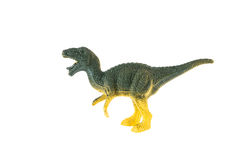 Juguete plástico del dinosaurio, rex del tiranosaurio Fotos de archivo libres de regalías