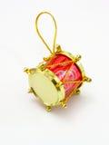 Juguete rojo como tambor Foto de archivo libre de regalías