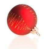 Juguete rojo de la Navidad Imagenes de archivo
