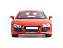Juguete rojo del coche Imagen de archivo