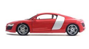 Juguete rojo del coche Imágenes de archivo libres de regalías