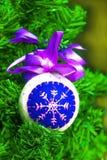 Juguete secado de la Navidad Imágenes de archivo libres de regalías