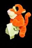 Juguete suave de la felpa del tigre Foto de archivo libre de regalías
