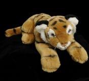 Juguete suave de la felpa del tigre Fotografía de archivo