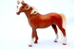 Juguete viejo del caballo fotografía de archivo