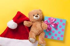 Juguete y regalo del oso de peluche Imágenes de archivo libres de regalías