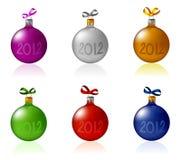 Juguetes 2012 del Año Nuevo stock de ilustración