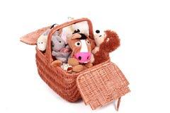 Juguetes animales Imagen de archivo libre de regalías