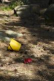Juguetes caídos Imagen de archivo libre de regalías