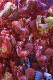 Juguetes chinos del gallo del Año Nuevo Foto de archivo libre de regalías
