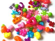Juguetes coloridos del bebé fotos de archivo libres de regalías