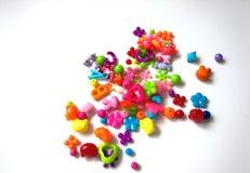 Juguetes coloridos del bebé fotos de archivo