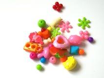 Juguetes coloridos del bebé fotografía de archivo libre de regalías
