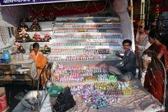 Juguetes de Diwali Foto de archivo libre de regalías