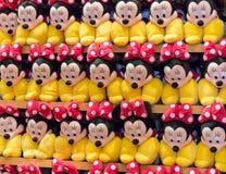 Juguetes de la felpa de Minnie Mouse Imagen de archivo libre de regalías
