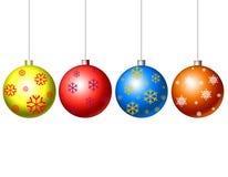 Juguetes de la Navidad Fotos de archivo libres de regalías