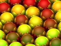 juguetes de la Navidad 3D Imagenes de archivo