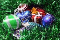 Juguetes de la Navidad Imágenes de archivo libres de regalías