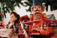 Juguetes de la Navidad Imagen de archivo libre de regalías