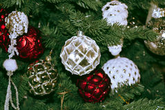 Juguetes de la Navidad Foto de archivo libre de regalías