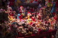 Juguetes de la Navidad Foto de archivo