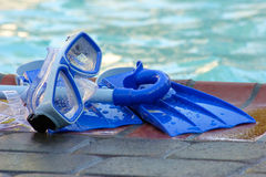 Juguetes de la piscina Fotografía de archivo