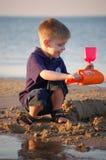 Juguetes de la playa Fotografía de archivo