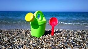 Juguetes de la playa almacen de video