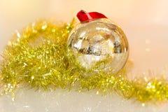Juguetes de las decoraciones de la Navidad Imagenes de archivo