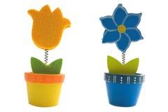 Juguetes de las flores Fotografía de archivo libre de regalías