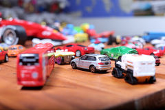 Juguetes de los coches Foto de archivo libre de regalías