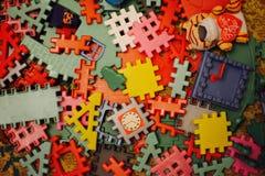 Juguetes de los niños Fotos de archivo libres de regalías