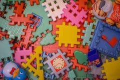 Juguetes de los niños Imagenes de archivo