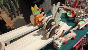 Juguetes de madera almacen de video