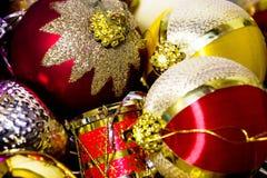 Juguetes de Navidad del Año Nuevo Imagen de archivo libre de regalías