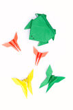 Juguetes de Origami Imagenes de archivo