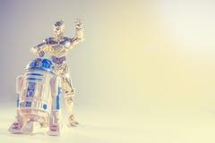 Juguetes de Star Wars imágenes de archivo libres de regalías