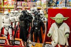 Juguetes de Star Wars Fotos de archivo libres de regalías