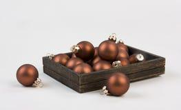 Juguetes del árbol de navidad foto de archivo libre de regalías