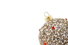 Juguetes del árbol del Año Nuevo Imágenes de archivo libres de regalías