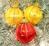 Juguetes del Año Nuevo Foto de archivo libre de regalías