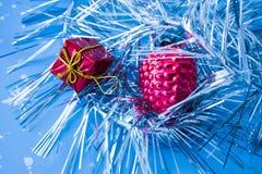Juguetes del Año Nuevo Imagen de archivo libre de regalías