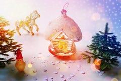 Juguetes del Año Nuevo Imagen de archivo