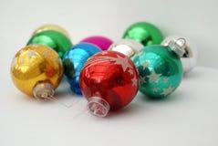 Juguetes del Año Nuevo Bolas de la Navidad decoración Imagenes de archivo