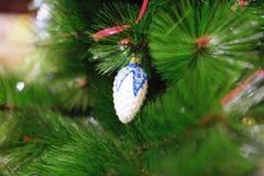 Juguetes del Año Nuevo en la Navidad justa Fotografía de archivo libre de regalías