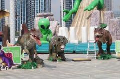 Juguetes del animal de la burbuja Foto de archivo