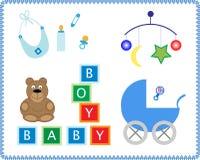 Juguetes del bebé Foto de archivo libre de regalías