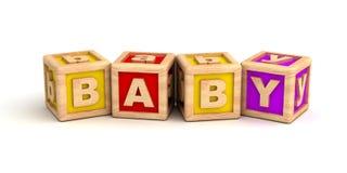 Juguetes del bebé Imágenes de archivo libres de regalías